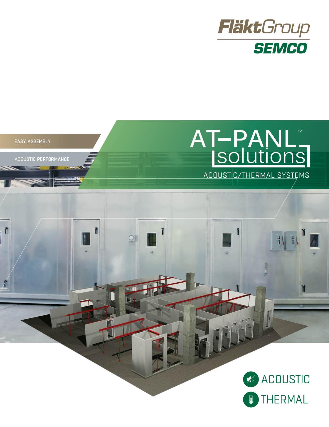 Acoustic Thermal Panels Sales Brochure - FlaktGroup Semco 2018-01.jpg
