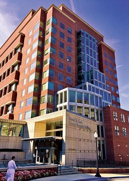Johns Hopkins David Koch Cancer Research Building