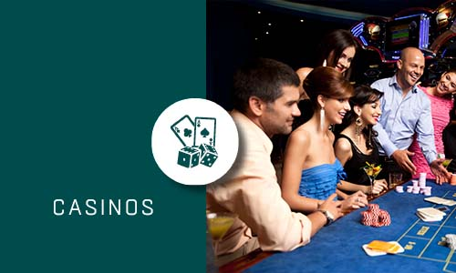 Casinos with Green box and Icon